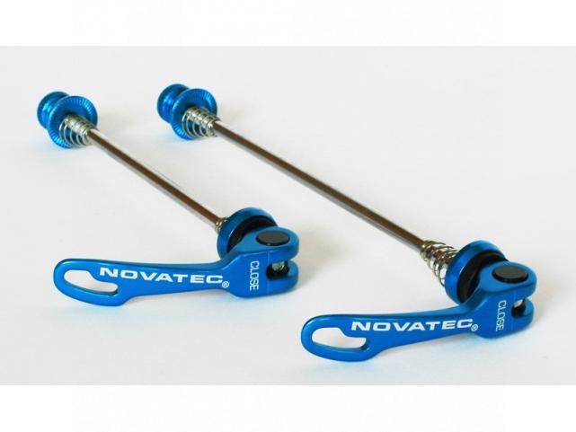 Sada rychloupínací osky Novatec QR249 P+Z modré