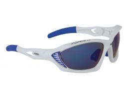 Brýle Force MAX White modrá laser skla