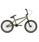 Dětské BMX Kolo HARO DOWNTOWN 18 Junior Green (Army)