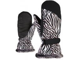 Rukavice Ziener KEM MITTEN LADY Zebra