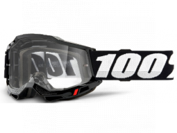 Brýle 100% ACCURI 2 Goggle Black - Clear Lens
