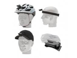 Úchyt na helmu Blackburn FLEA Helmet Head Hat