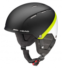 Lyžařská helma Head Tucker Boa black/lime model 2017/18