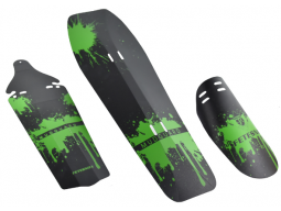 Blatníky sada PROFIL-01 zelené