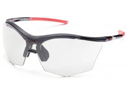 sluneční brýle RH+ Ultra Stylus, black/red, varia grey lens