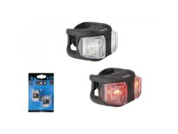 Světlo M-Wave COBRA II 2 LED 3F černé sada