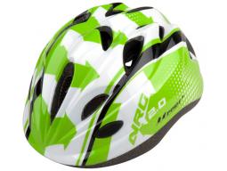 Helma PRO-T Plus Toledo In mold dětská, zeleno-bílo-černá NRG
