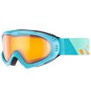 Lyžařské brýle Uvex F 2 Petrol Orange LaserGold Lite