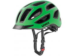 Helma Uvex CITY E Neon Green/Black Mat, model 2017