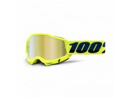 Brýle 100% ACCURI 2 GOGGLE YELLOW - MIRROR GOLD LENS