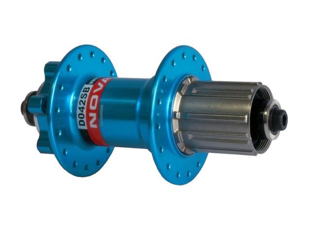 Náboj Novatec D042SB zadní 32 děr modrý