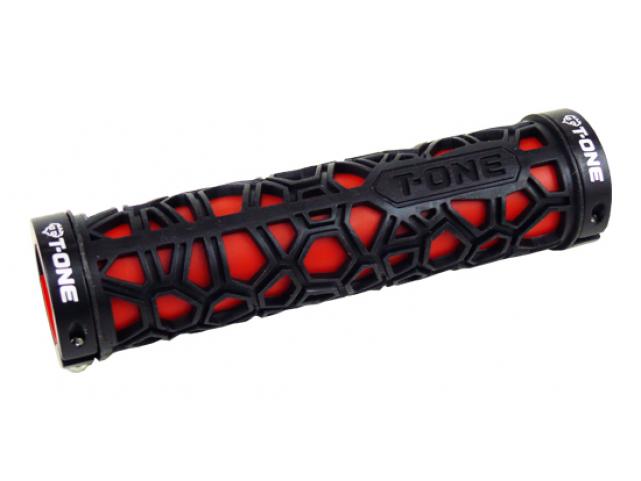 Gripy T-One T-GP17R černo červený