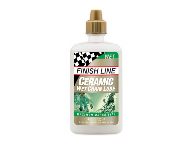 Olej Finish Line CERAMIC WET 120ml , kapátko