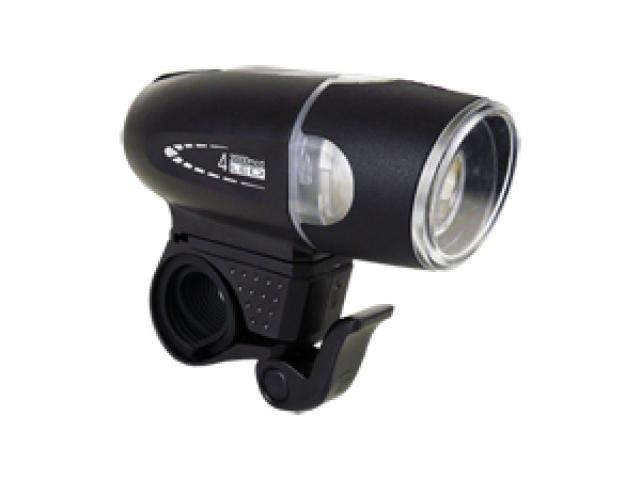Světlo přední MOON SHL-06 4LED 30lm černé