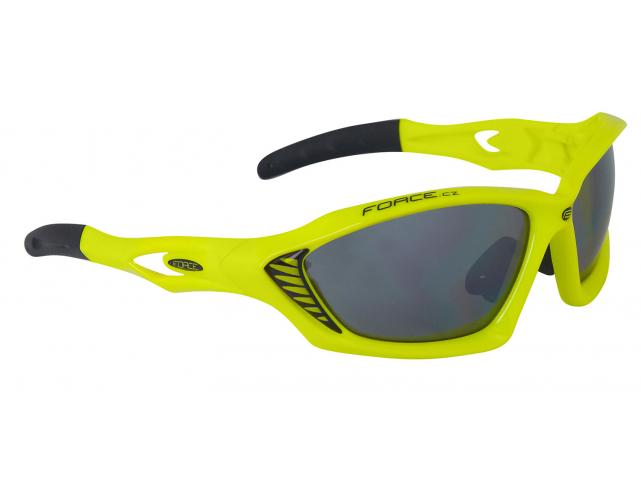 Brýle Force MAX Fluo černá laser skla