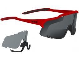 Sluneční brýle KELLYS DICE Photochromic, Shiny Red