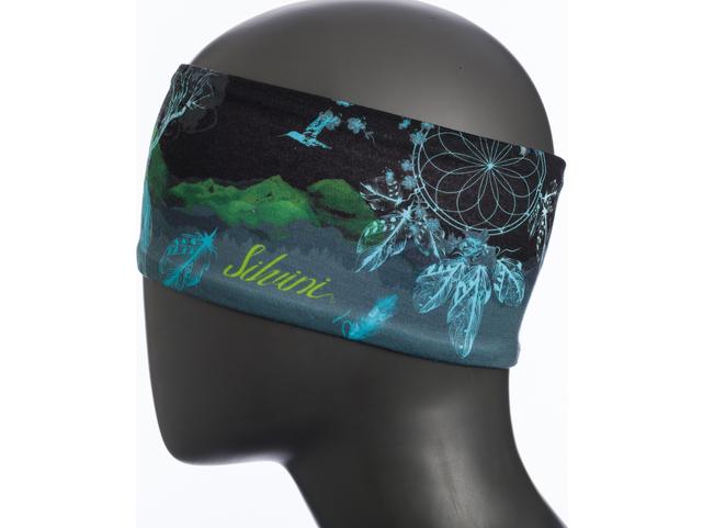 Čelenka Silvini MONATE WA1517 Black-Ocean