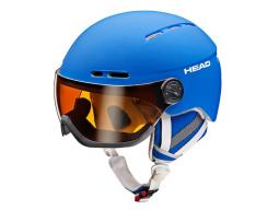 Lyžařská helma Head Knight blue model 2017/18