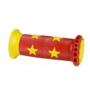 Gripy Force STAR gumová dětská, červeno-žlutá
