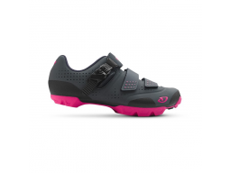 Boty Giro MANTA R dark shadow/bright pink