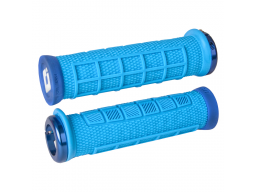 Gripy MTB ODI Elite Pro Lock-On modrá
