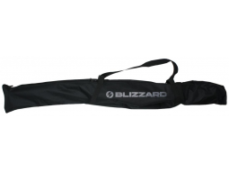 Vak na lyže Blizzard Ski bag, 1 pár, black/silver, 160-180cm