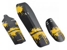 Blatníky sada PROFIL-01 žluté