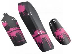 Blatníky sada PROFIL-01 růžové