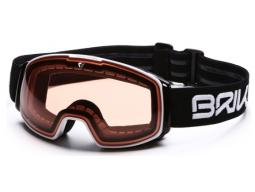 Lyžařské brýle Briko NYIRA FREE FIGHTER-FISI Black White-P1, 2018/19