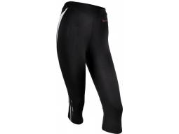 Kalhoty Silvini SAVUTO WP389 dámské běžecké 3/4 Black White
