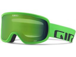 Lyžařské brýle GIRO Cruz Bright Green Word Mark Loden Green
