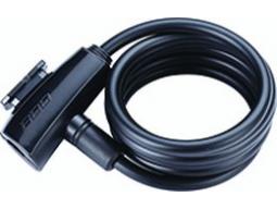 Zámek BBB BBL-61 QuickSafe 8x1500mm černá