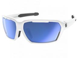 Sluneční brýle Scott Vector white blue chrom