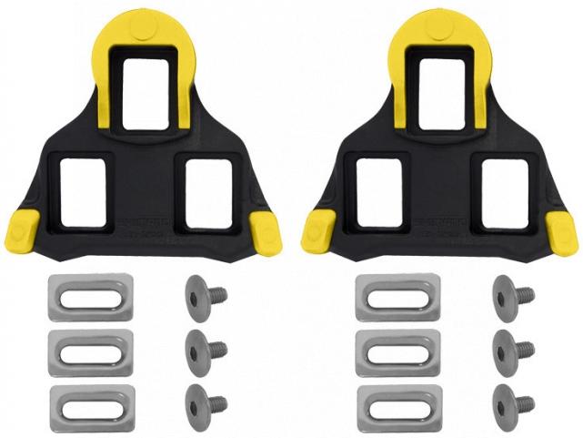 Zarážky Shimano SM-SH11, černo-žluté