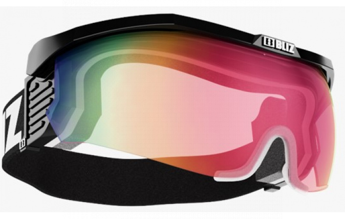 Brýle Bliz ACTIVE-PROFLIP MAX SMALL FACE Black pink whit Red multi+Clear 6938e44ae5d