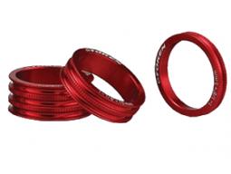 """Podložka TOKEN CNC 1 1/8"""" 5mm červená"""