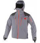 Bunda Dainese PROTEO D-DRY Jacket Steel Gray Light Red