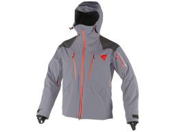 Bunda Dainese PROTEO D-DRY Jacket Steel Gray Light Red