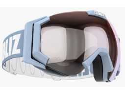 Lyžařské brýle Bliz CARVER SR Light Blue Orange with Silver Mirror, model 2017/18