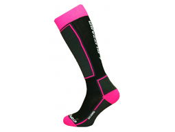 Ponožky Blizzard SKIING Ski Socks JUNIOR Black Pink