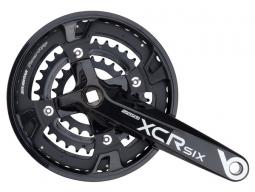 Trojpřevodník SUNTOUR CW14-XCR SIX-T418 Al 26x36x48 zubů