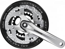 Kliky Shimano ALIVIO FC-T4010-T oktalink 3x9 175 mm 48x36x26z s krytem černé