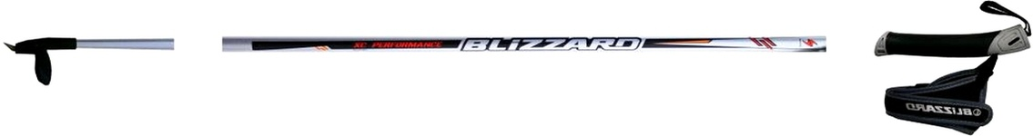 Běžecké hole Blizzard XC PERFORMANCE Silver model 2011/12