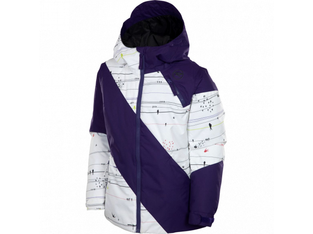 Bunda Rossignol GIRL FIRE JACKET PR Blueberry