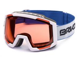 Lyžařské brýle Briko LAVA P1 matt white model 2017/18
