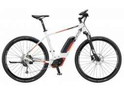 Elektrokolo KTM MACINA CROSS 9 CX White matt (black+red), 2019