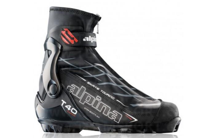 Běžecké boty Alpina T40 Black White Red