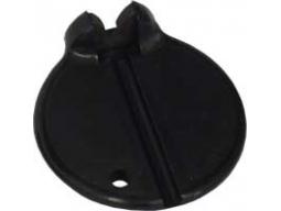 Centrklíč plast černý