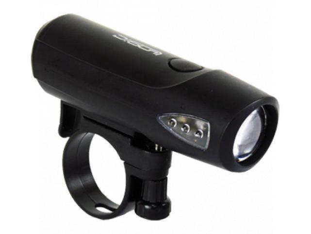 Světlo přední LOGIC JY-224-1 černé