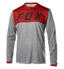 Dres Fox Racing Indicator Ls Jersey Heather Red